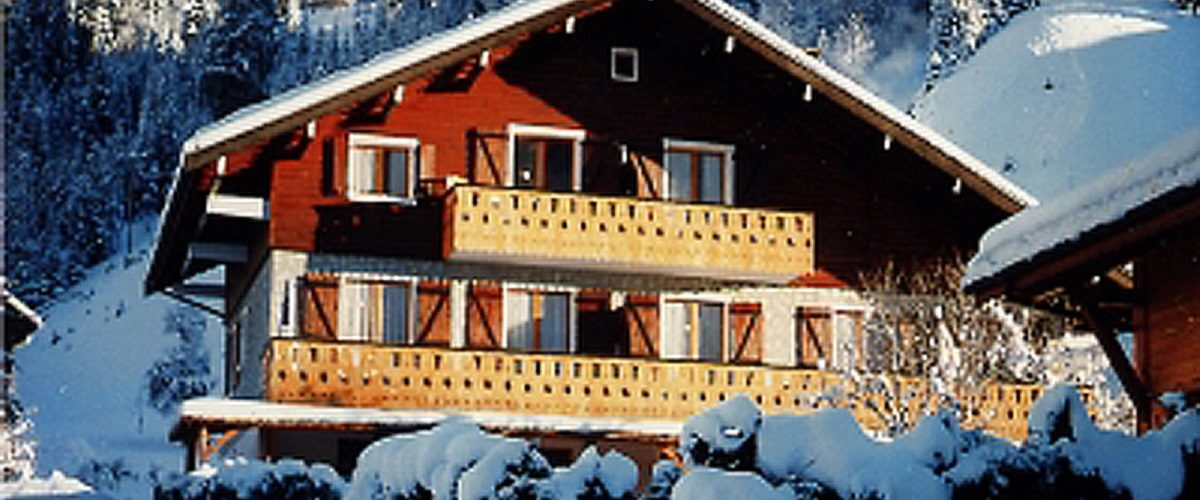 Studio in chalet Les Bossons n°P1.3 - 32m² - Command Roger
