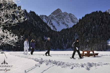 "Snowshoeing - ""Chapels and shrines"""