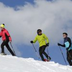 Snowshoe walk : Essert descent