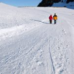 Snowshoeing on the Mémises ridge