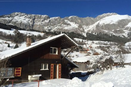 Apartment in chalet - 55 m² - 2 bedrooms - Favre-Rochex Franck
